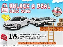 Unlock a Deal Sales Event