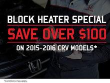 Block Heater Special!