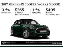 2017 MINI John Cooper Works 3 Door