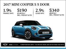 2017 MINI Cooper S 5 Door