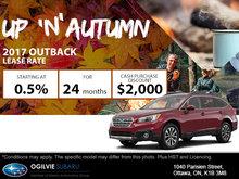 Get the 2017 Subaru Outback