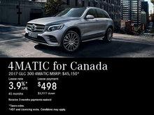 Lease the 2017 Mercedes-Benz GLC 300 4MATIC