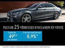 Plus de 25 véhicules d'occasion en vente