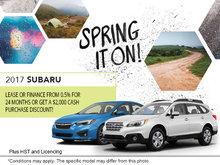 Ogilvie Subaru's Monthly Sales Event!