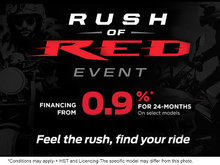 Rush of Red Event - Motorcycles