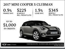 2017 MINI Cooper S Clubman