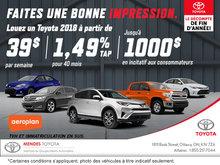 Le décompte de fin d'année chez Mendes Toyota!
