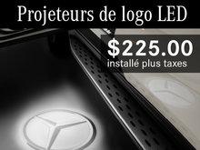 Projeteurs de logo LED à 225$