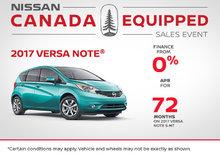 2017 Nissan Versa Note at Morrey Nissan!