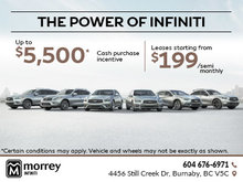 The Power of Infiniti Sales Event!