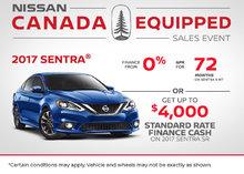 Save Big on the 2017 Nissan Sentra!