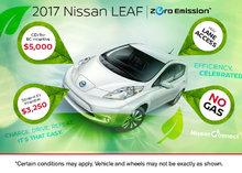 The 2017 Nissan LEAF