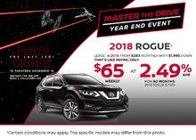 2018 Nissan Rogue at Morrey Nissan