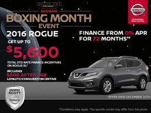 Get the 2016 Nissan Rogue Today!