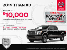 Get the 2016 Nissan Titan XD Today!