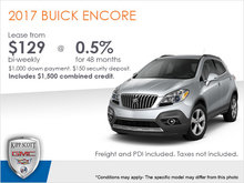 Get the All-New 2017 Buick Encore Today!