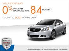 Get the 2016 Buick Verano Today!