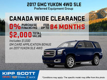 Save Big on the 2017 GMC Yukon!