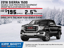 Save Big on the 2018 GMC Sierra 1500 Today!