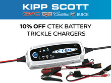 Save 10% on CTEK Battery Trickle Chargers