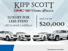 Cadillac Luxury For Less Event!