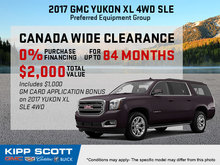 Finance the 2017 GMC Yukon XL Today!
