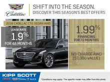 Save Big on the 2018 Cadillac CT6 Sedan!