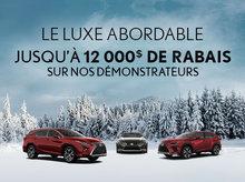 Vente de démonstrateurs Lexus