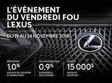L'Événement du vendredi fou Lexus