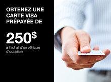 Obtenez une carte Visa prépayée de 250$