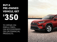 June Promotion on our pre-owned vehicles
