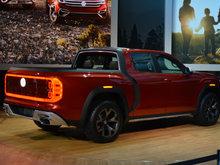 Volkswagen surprises everyone with Atlas Tanoak pickup in NYC