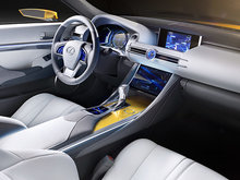 Lexus LF-C2 dévoilée à Los Angeles