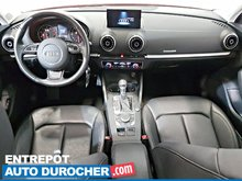 2015 Audi A3/S3 2.0T AWD TOIT OUVRANT - A/C - Automatique - Cuir - Sièges Chauffants