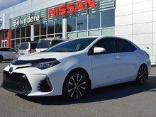 2017 Toyota Corolla SE CUIR/TISSUS MANUEL CAMERA DE RECUL TOIT OUVRANT