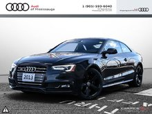 2013 Audi S5 3.0T Prem S tronic qtro Cpe