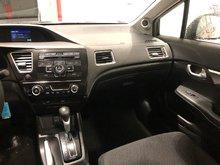 2013 Honda Civic Sdn EX w/sunroof, alloy, backup cam, $138.08 B/W ONE OWNER, LEASE RETURN