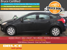 2012 Ford Focus SE 2.0L 4 CYL AUTOMATIC FWD 5D HATCHBACK