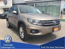 2015 Volkswagen Tiguan Comfortline 4Motion