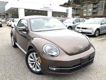 2015 Volkswagen The Beetle Convertible Comfortline 1.8T 6sp at w/Tip