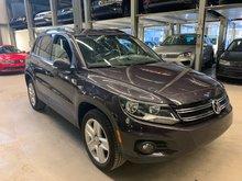 2016 Volkswagen Tiguan COMFORTLINE, BAS KM,  (CERTIFIED)