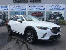 Mazda CX-3 GT, AWD, CUIR, NAVIGATION, SIEGES CHAUFFANTS,MAGS 2016 JAMAIS ACCIDENTÉ