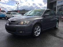 Mazda Mazda3 **RÉSERVÉ**SIÈGES CHAUFFANTS,RÉGULATEUR, MAGS, A/C 2008 GROUPE ÉLECTRIQUE