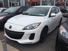 Mazda Mazda3 GS-SKY, SIÈGES CHAUFFANTS, BLUETOOTH, MAGS, A/C 2013 JAMAIS ACCIDENTÉ, UN SEUL PROPRIÉTAIRE, BAS KILOMETRAGE