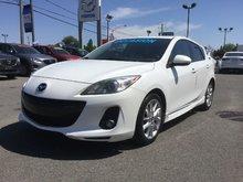 Mazda Mazda3 GT, NAVIGATION, CUIR, SIEGES CHAUFFANTS,A/C BIZONE 2013 SEULEMENT 55000 KM