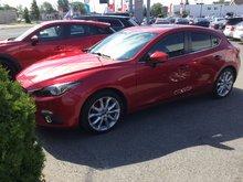 Mazda Mazda3 ***RÉSERVÉ***, GT-SKY, NAVIGATEUR, TOIT, CUIR 2014 JAMAIS ACCIDENTÉ, UN SEUL PROPRIÉTAIRE