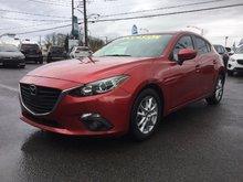 Mazda Mazda3 GS-SKY, TOIT, BLUETOOTH, SIÈGES CHAUFFANTS, MAGS 2014 UN SEUL PROPRIÉTAIRE