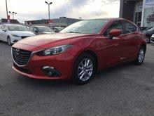 Mazda Mazda3 GS-SKY, TOIT, SIÈGES CHAUFFANTS, MAGS, CAMERA, A/C 2014 JAMAIS ACCIDENTÉ, UN SEUL PROPRIÉTAIRE
