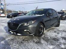 Mazda Mazda3 GS-SKY, SIÈGES CHAUFFANTS, BLUETOOTH, MAGS, CAMERA 2014 JAMAIS ACCIDENTÉ