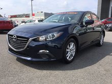 Mazda Mazda3 GS, CERTIFIABLE, TAUX À PARTIR DE 0.9% 2015 JAMAIS ACCIDENTÉ, UN SEUL PROPRIÉTAIRE, BAS KILOMETRAGE
